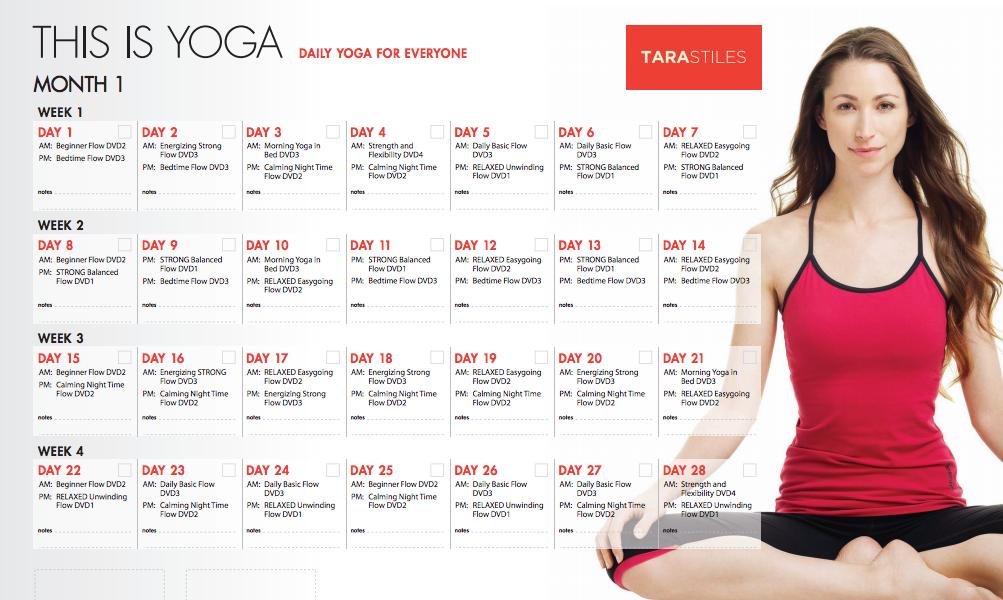 yoga 30 days